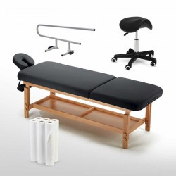 Table de massage de marque réputée avec Têtière en Aluminium