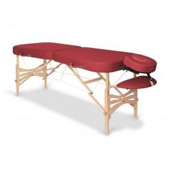 Table de massage ou soins fixe en aluminium épaisseur 10 cm