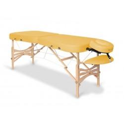 Table de massage pliante pliable en bois 2 zones