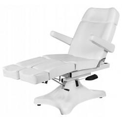 Table de massage cosmetique lit de massage blanc épaisseur de coussin 10cm