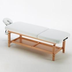 Table esthéticienne 3 zones Aluminium