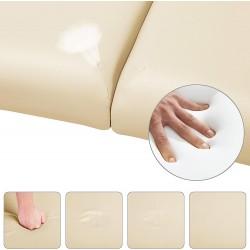 Table de massage cosmétique grand confort pliable en bois 3 zones épaisseur 10 cm