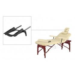 Lot de 6 chaises de salle à manger salon beige antique confortable polyester