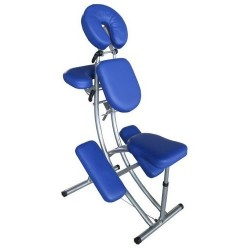 Table de Massage Pliante 2 zones Aluminium