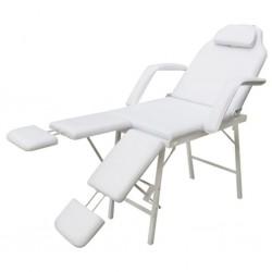 Table de massage cosmetique lit de massage noir épaisseur de coussin 10cm
