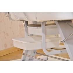Table de massage cosmetique lit de massage beige épaisseur de coussin 7,5cm