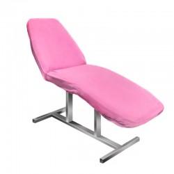 Table de massage cosmetique lit de massage blanc épaisseur de coussin 7,5cm