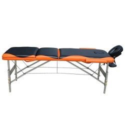 Table Estheticienne/Massage Auminium Bi couleur